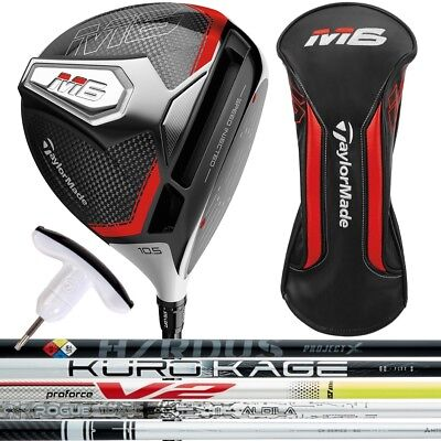 2019 TaylorMade M6 Custom Right Hand Driver - Pick Your Custom Shaft and Loft