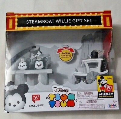 Mickey Mouse Steamboat Willie Gift Set Walgreens Exclusive Tsum Tsum