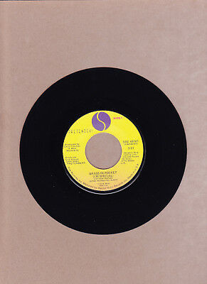Pretenders - Brass In Pocket (I'm Special) / Space Invader 45 Rpm Sire Vg++ 1980