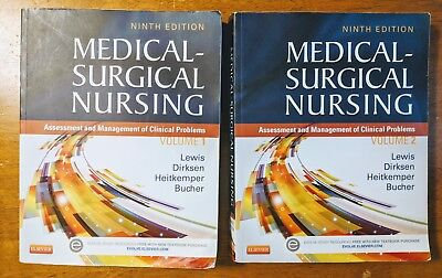 Medical Surgical Nursing 9Th Edition, Volumes 1 & 2,