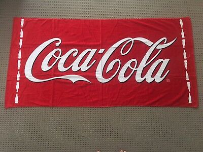 Coca Cola branded Beach Towel, unopened, Brand New