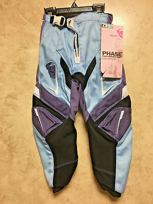 Thor Phase Performance Pants Size 18 Girls Youth Motorcross MX Kids~NEW w/Tags