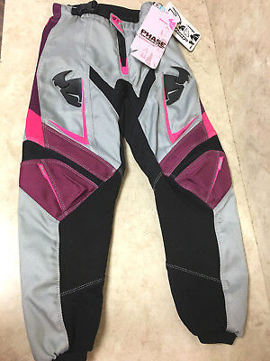 Thor Phase Performance Pants Size 22 Girls Youth Motorcross MX Kids~NEW w/Tags