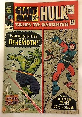 Tales to Astonish #67 (Feb 1966, Marvel) - VF SILVER AGE