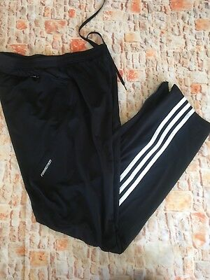 Adidas Response Formation Black Classic Stripped Pants Running Leggings S
