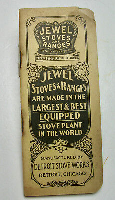 1900 Era Jewel Stoves and Ranges Advertising Notebook