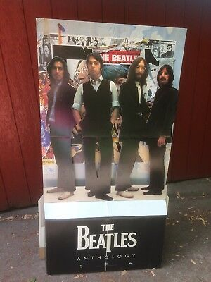 Beatles Anthology large Standee, PROMO In-store dispaly IN BOX