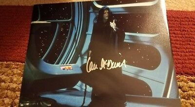 Star Wars Photo Signed-Autographed by Ian McDiarmid The Emperor
