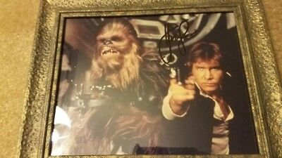 Star Wars Photo Signed-Autographed by Harrison Ford Han Solo