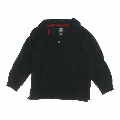 Old Navy Boys Polo Shirt, size 4/4T,  black,  cotton