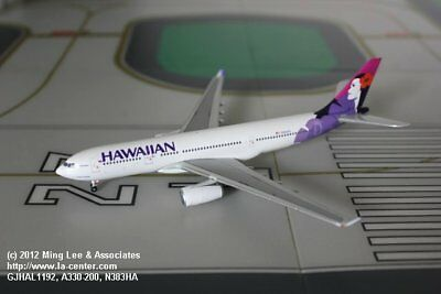 Gemini Jets Hawaiian Airlines Airbus A330-200 in Old Color Diecast Model 1:400