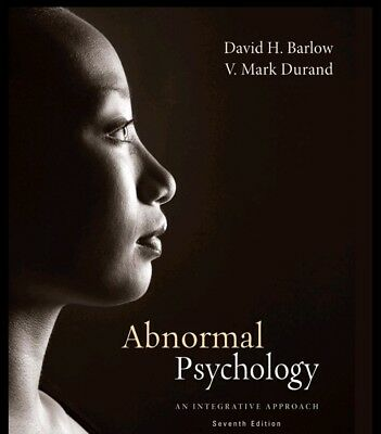 Abnormal Psychology An Integrative Approach 7th Edition Ebook/PDF