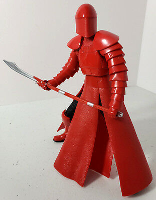 "Star Wars Black series Elite Praetorian Guard 6"" Loose Action Figure by Hasbro"