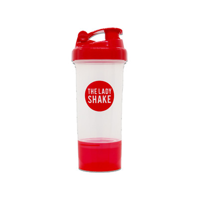 The Lady Shake Shaker - Meal Replacement Plastic Container Shaker