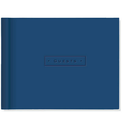 NEW Peter Pauper Press Artisan Guest Book Dark Blue