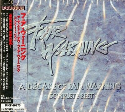 【CD】 FAIR WARNING / A DECADE OF FAIR WARNING (COMPLETE BEST) =JAPAN w/OBI= 2001