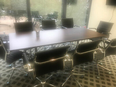 LIKE NEW Brown Big 2100x900 Office Meeting table