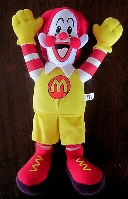 Ronald McDonald ~ 40cm Tall Soft Toy