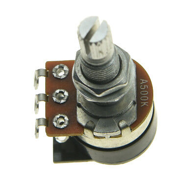 Shadow Kill Pot Guitar Bass Potentiometer with Push Switch  Audio Taper A500K