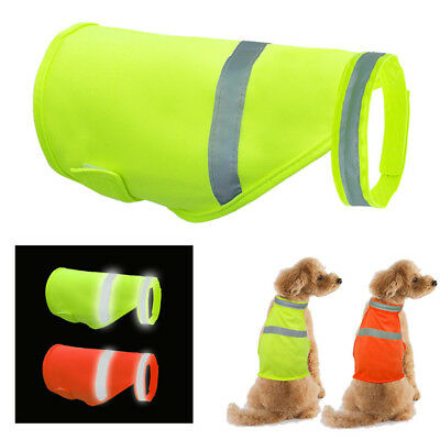 US Dog Safety Vest Reflective Small Large Pet Puppy Coat Clothes for Hunting