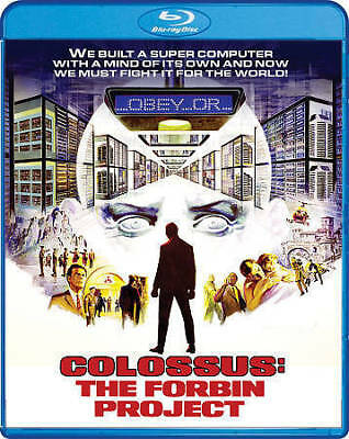 COLOSSUS THE FORBIN PROJECT New Sealed Blu-ray