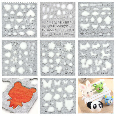 Wool Felt Mold Kits DIY Needle Felting Making Tools Handcraft Sewing Accessories
