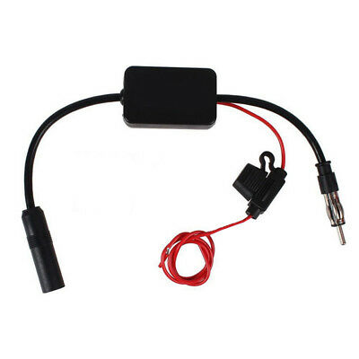 ANT-208 Car Auto Radio Antenna Aerial AM & FM Signal 85-112MHz Amplifier Booster