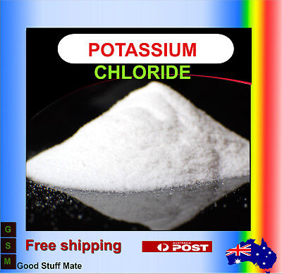Au Seller Pure Potassium Chloride ORGANIC Powder Salt DIRECT FROM THE DEAD SEA