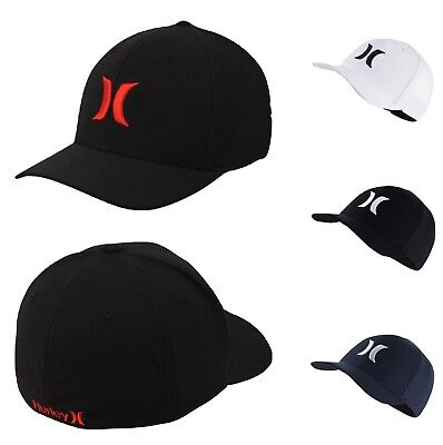 f4a94dce44120 Hurley One And Only Dri-Fit FlexFit Fitted Hat Cap S M