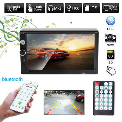 "7"" 2Din HD Car MP5 Player Touch Screen Stereo FM Radio for Android / lOS 7010B"