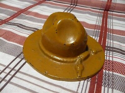 Champion-Emery Stove Co. Quincy Ill. Cast Iron Ranger Hat Advertising--Vintage