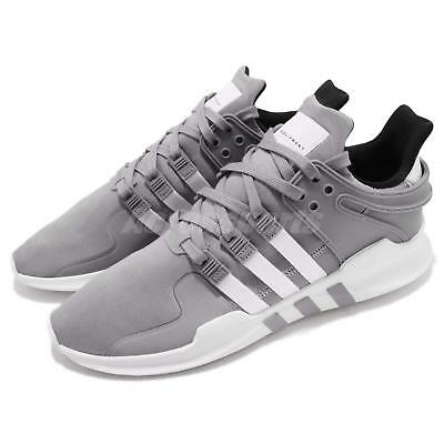on sale 01fa6 db013 adidas Originals EQT Support ADV Grey White Men Running Shoes Sneakers  B37355