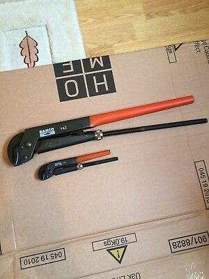 Bahco 1430ERGO Pipe Wrench 557mm Capacity 90mm BAH143 #1