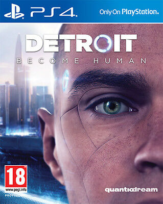 Detroit: Become Human Sony PS4 Playstation 4 Nuovo Sigillato