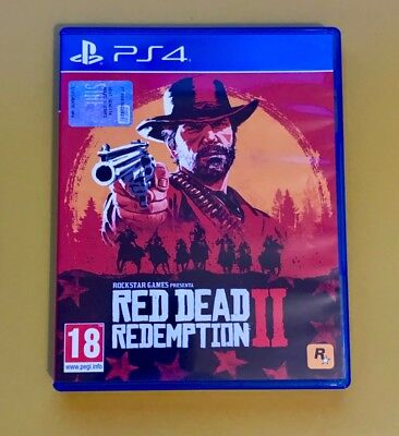 Red Dead Redemption Ii 2 Come Nuovo !!Ps4 Playstation 4 Italiano