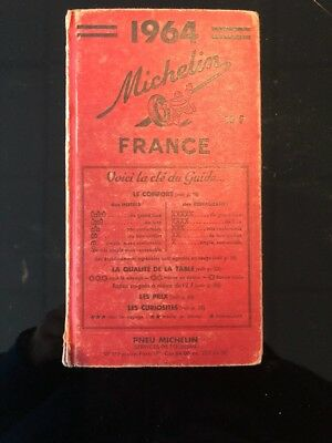 Guide Rouge Michelin France - 1964