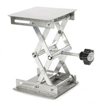 Drillpro 4x4 Scientific Lab Jack Lab Aluminum Lifting Platform Stand Rack Lifter
