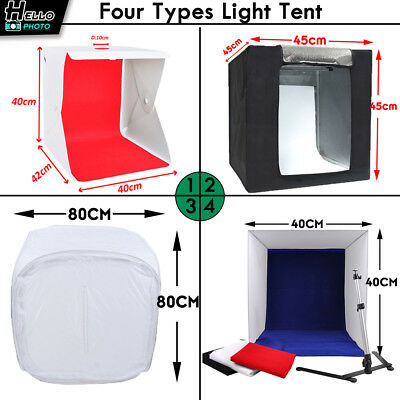 Light Room Photo Studio Photography USB LED Lighting Tent Backdrop Cube Box Kit
