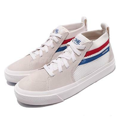 Skechers Champ Ultra White Navy Red Women Casual Shoes Sneakers 18070-WNVR