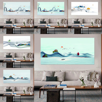 Modern Scenery Art Oil Painting Canvas Picture Home Wall Decor Unframed Poster
