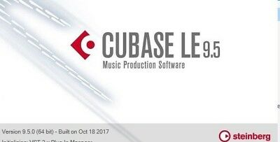 CUBASE 9.5 LE Licence! Ultimate DAW - Not the Trial ! inc.Halion Sonic SE 3! NEW