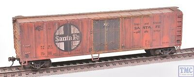 17907 Bachmann HO Gauge (US Outline) 50ft Steel Reefer ATSF w/ Deluxe Weathering