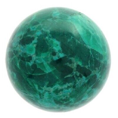 Highly Polished 45mm Crystal Spheres, Emits Natural Energy - Chrysocolla Howlite