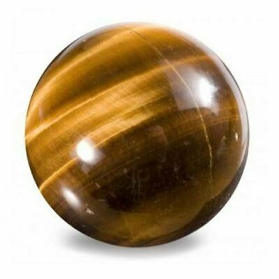 Highly Polished 45mm Crystal Spheres, Emits Natural Energy - Tigers Eye