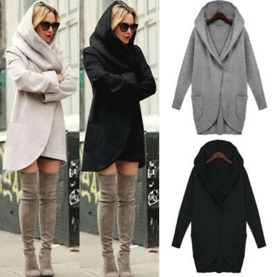 Autumn Womens Stylish Long Sleeve Sweater Knitted Cardigan Overcoat N7