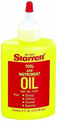 Starrett 1620 Tool and Instrument Oil, 4 fl.oz Yellow