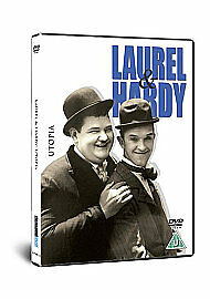 Utopia-Laurel And Hardy-Dvd-Brand New Sealed