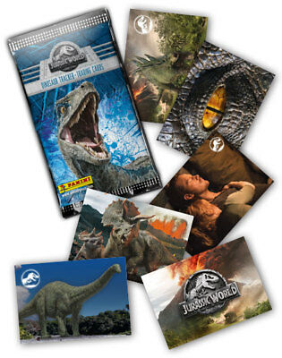 Panini Jurassic World Fallen Kingdom Tradings Cards No Stickers