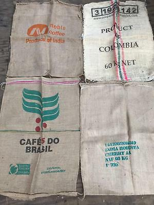 Used Coffee Bean Sacks