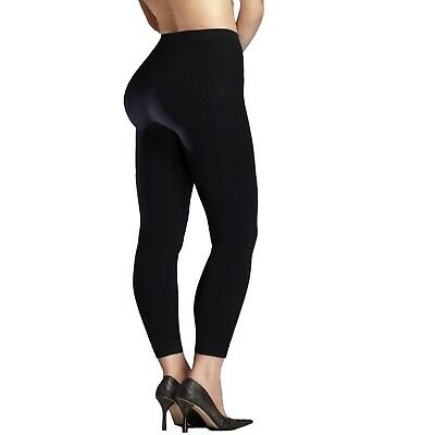 New Ladies Stretch Thick Winter Warm Thermal Fleece GYM Black Leggings UK 8-14